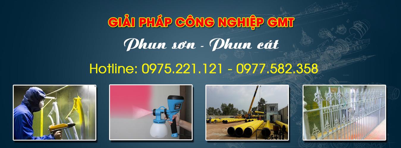 dịch vụ phun cát